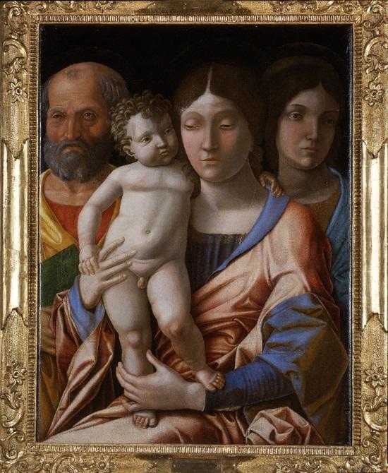 tela Andrea Mantegna Sacra Famiglia