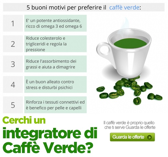 benefici caffe verde