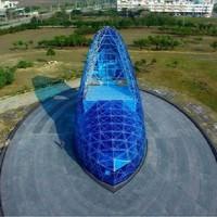 A Taiwan la prima Chiesa nel mondo a forma di scarpetta di cristallo