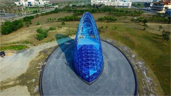 taiwan chiesa di cristallo
