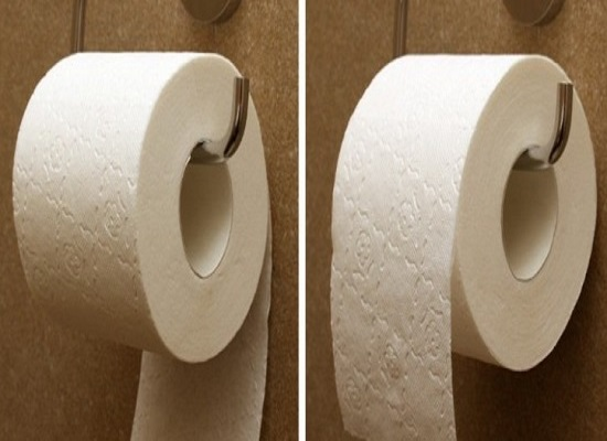orientamento carta igienica