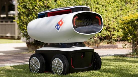 Robot consegna pizze