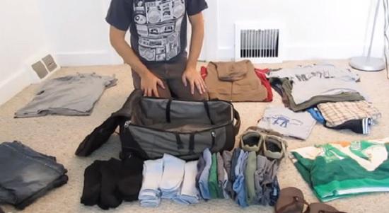 trucchi come fare la valigia