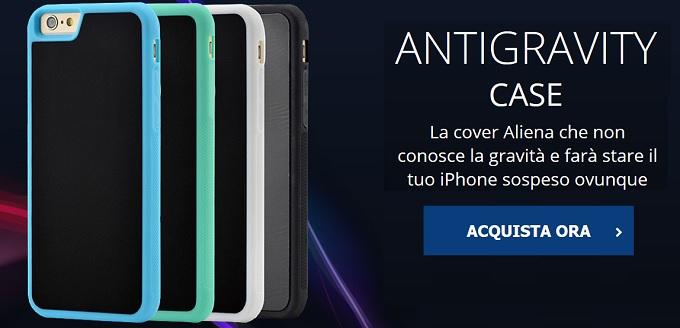 custodia iphone antigravita