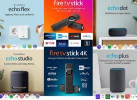 Tutti i prodotti Alexa Echo e Fire TV – Quale scegliere?