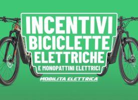 Bonus mobilità da massimo 500€ per bici , monopattini elettrici e non solo